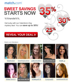 Valentine's Day Mystery Deal