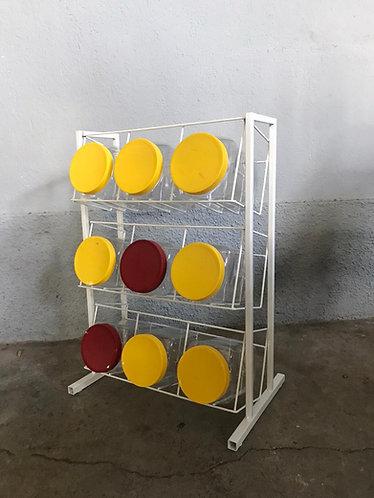 Exhibidor/Organizador Vitrolero Dulcero para Mostrador