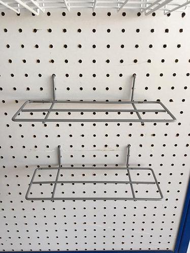 Gancho para zapato/tenis para panel perforado o ranurado/ malla de alambre