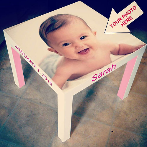 CUSTOMIZED AND PERSONALIZED TABLE