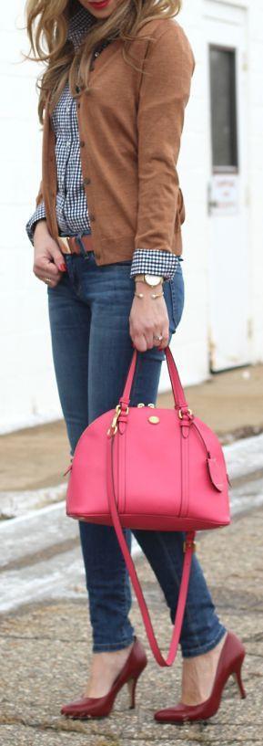 Como usar bolsas coloridas