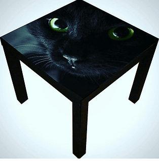 BLACK CAT END TABLE