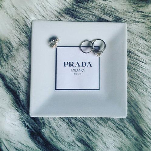 PRADA INSPIRED CERAMIC TRAY