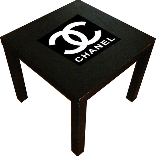CHANEL INSPIRED END TABLE