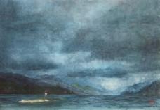 Langfjorden, Op de ferry 3,
