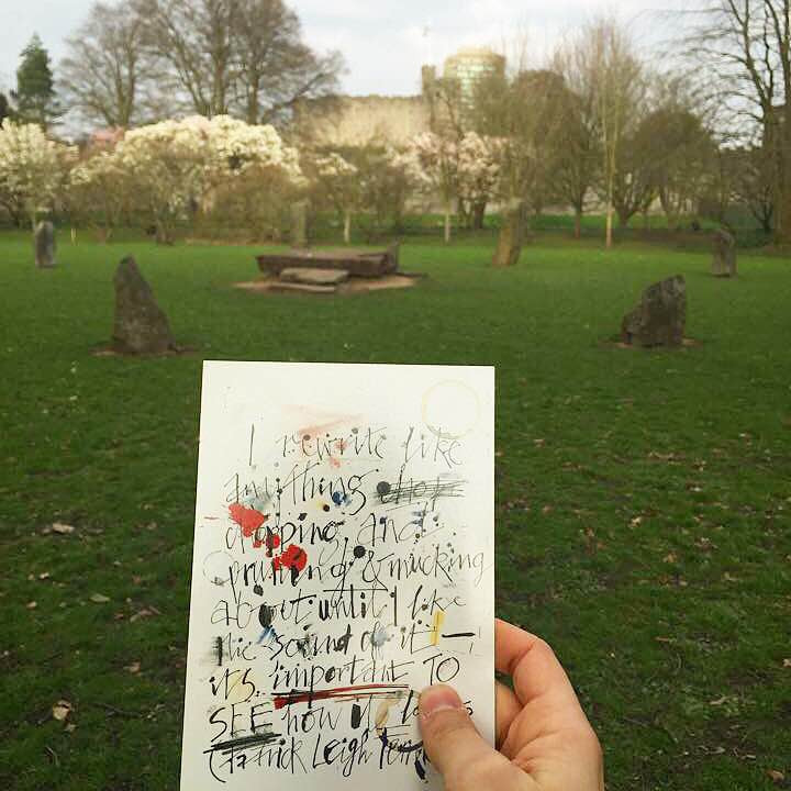 Bute Park, Cardiff, Wales. 2015.