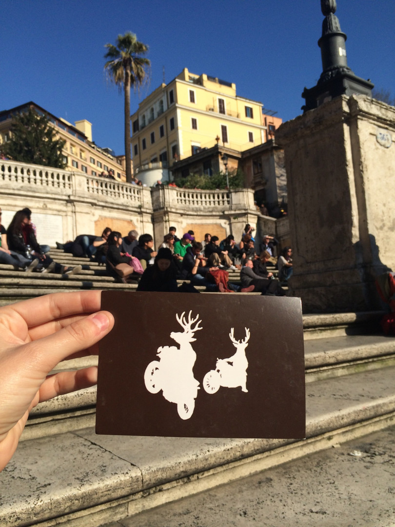 Piazza de Espanya, Rome. 2015