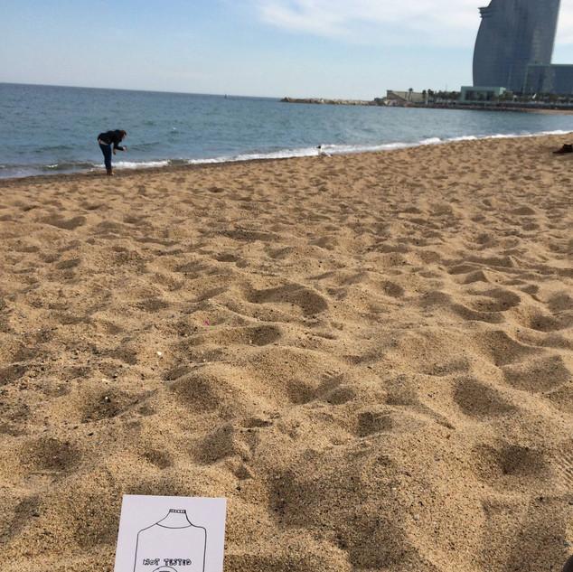 Playa Barceloneta.
