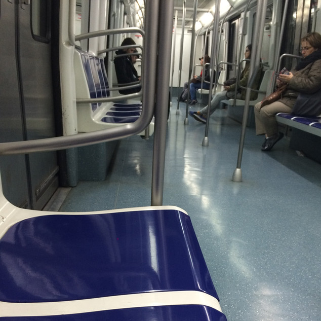 Barcelona Green Line Subway.