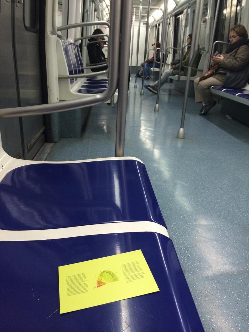 Metro Linha Verde, Barcelona. 2015