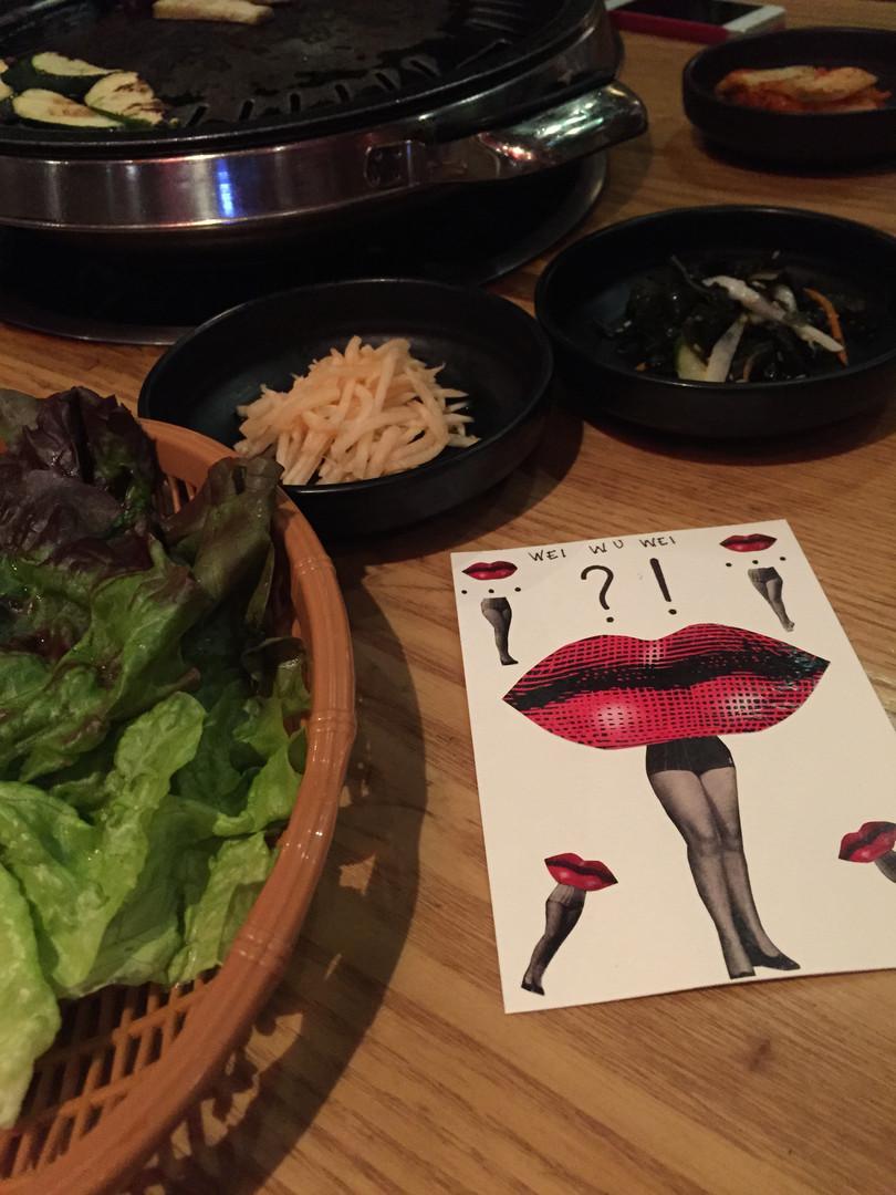 Miss Korea BBQ, Korea Town. New York. 2014