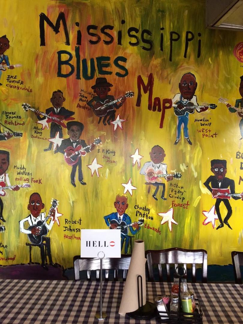 Central BBQ Restaurant, Memphis. 2013