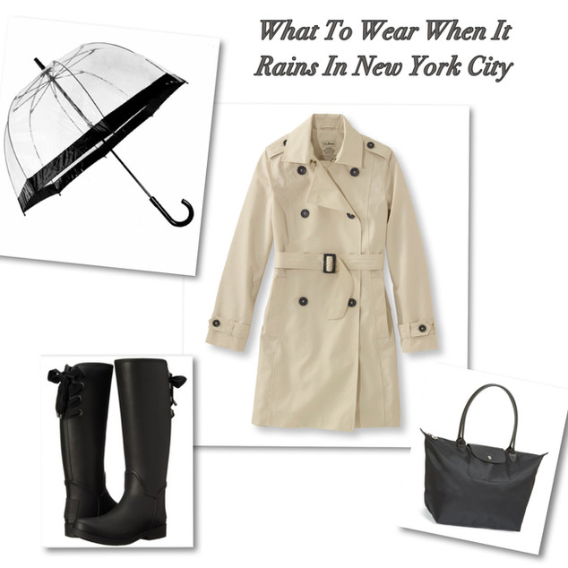 What To Wear When It Rains In New York City