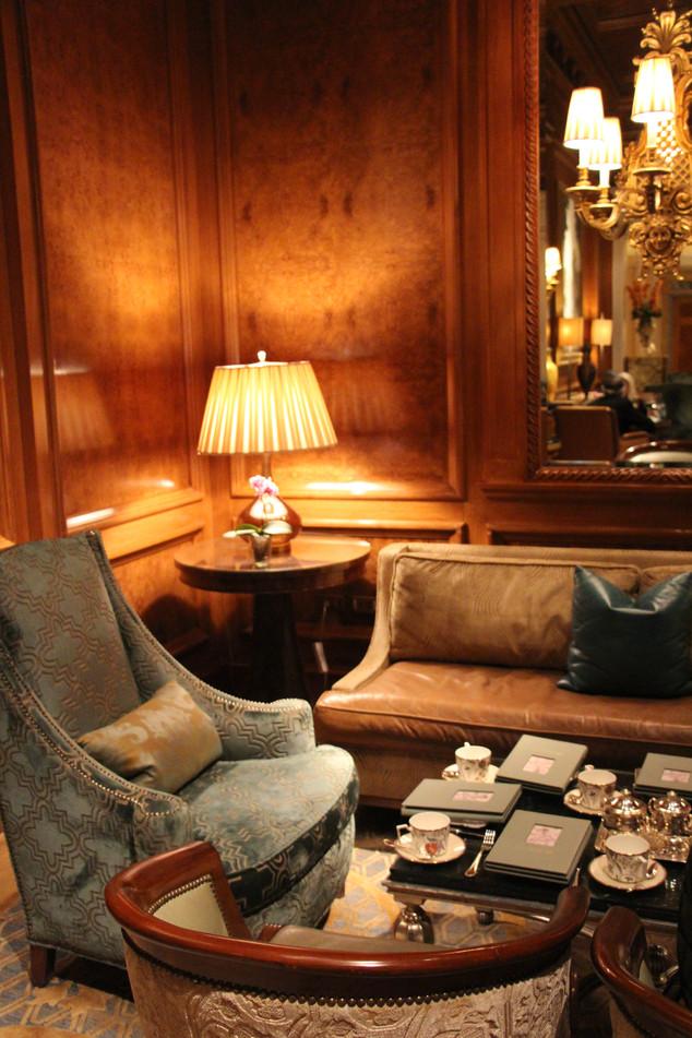 High Tea at the Ritz-Carlton