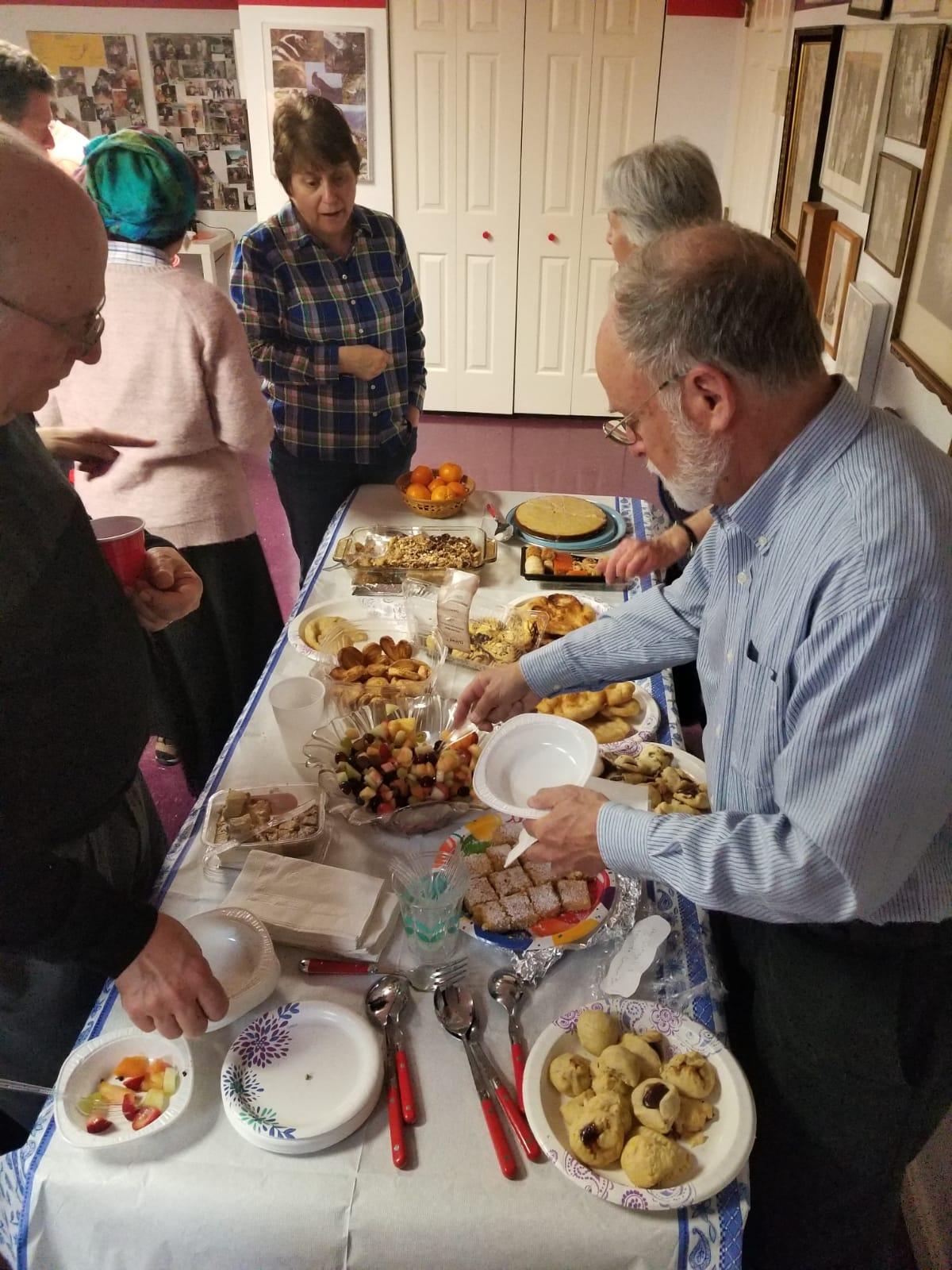 chavurah desserts