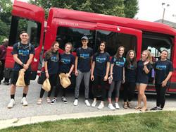 Full group bus