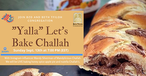 _Yalla_ Let's bake some Challa.FB Event.