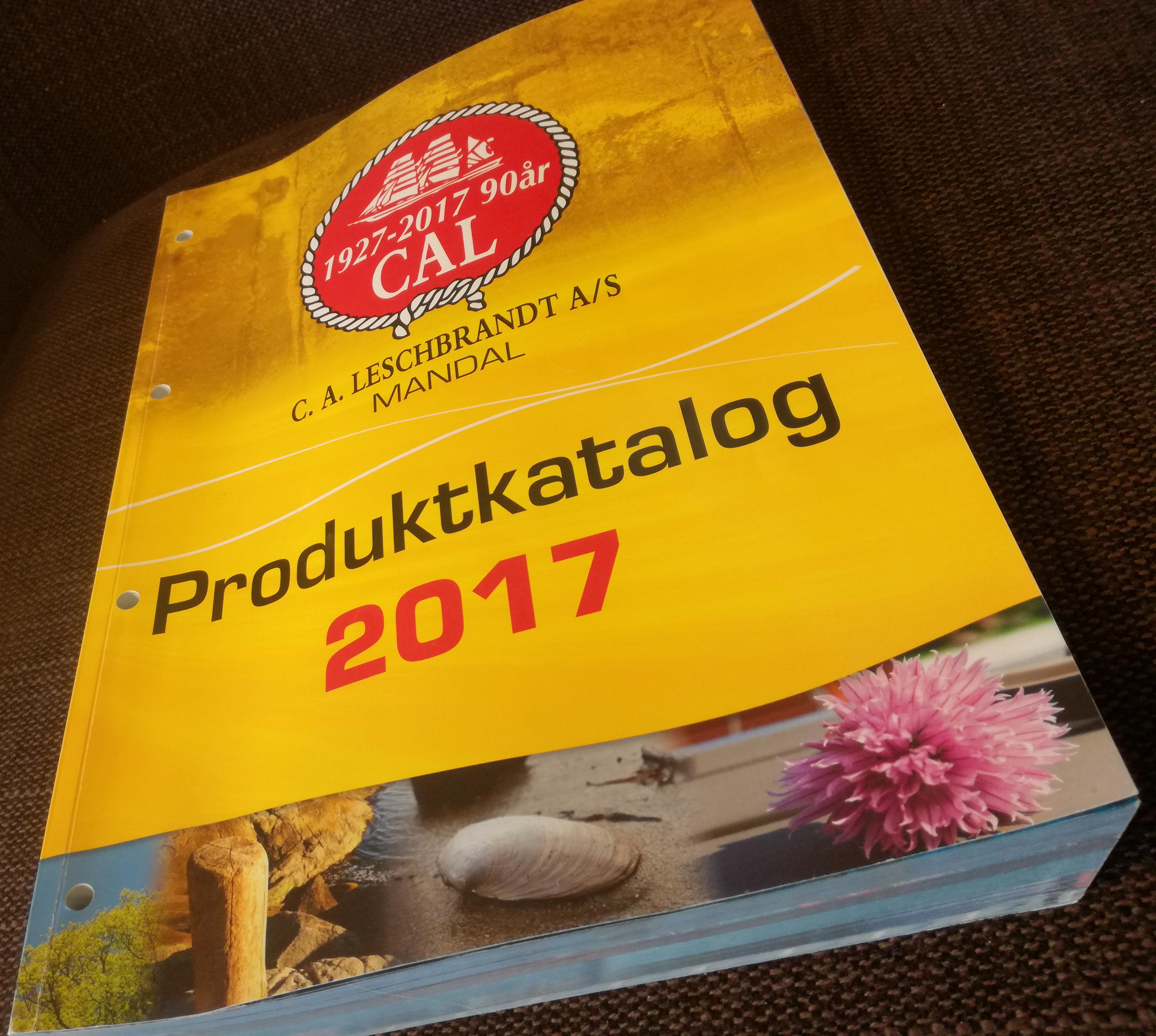CAL hovedkatalog 2017, 474 sider