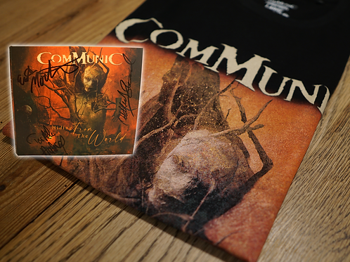BUNDLE - Hiding From The World - CD + Official T-SHIRT