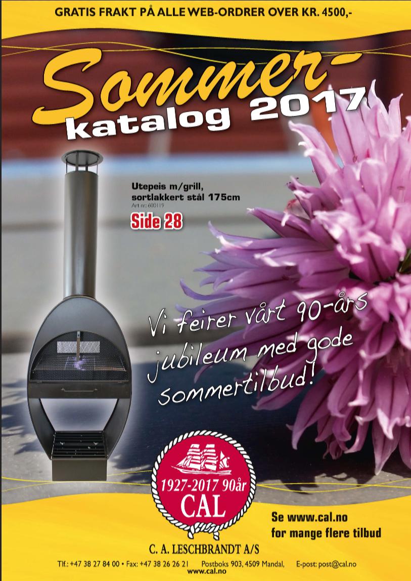 Sommerkatalog 2017 for CAL