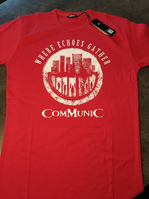Communic RED logo TSHIRT