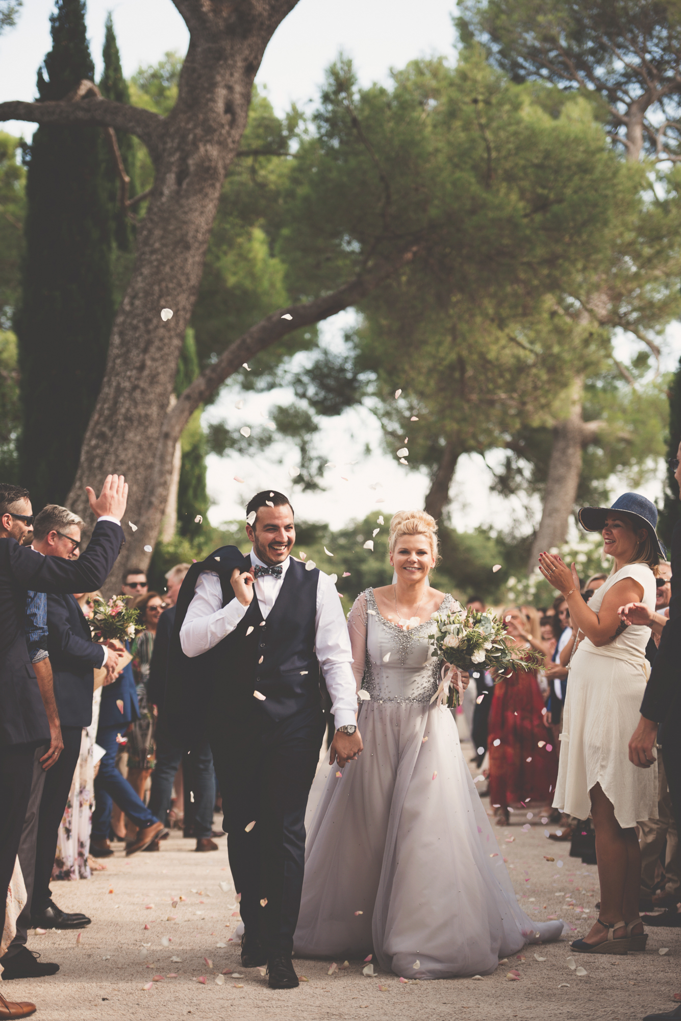 Outdoor wedding in Provence