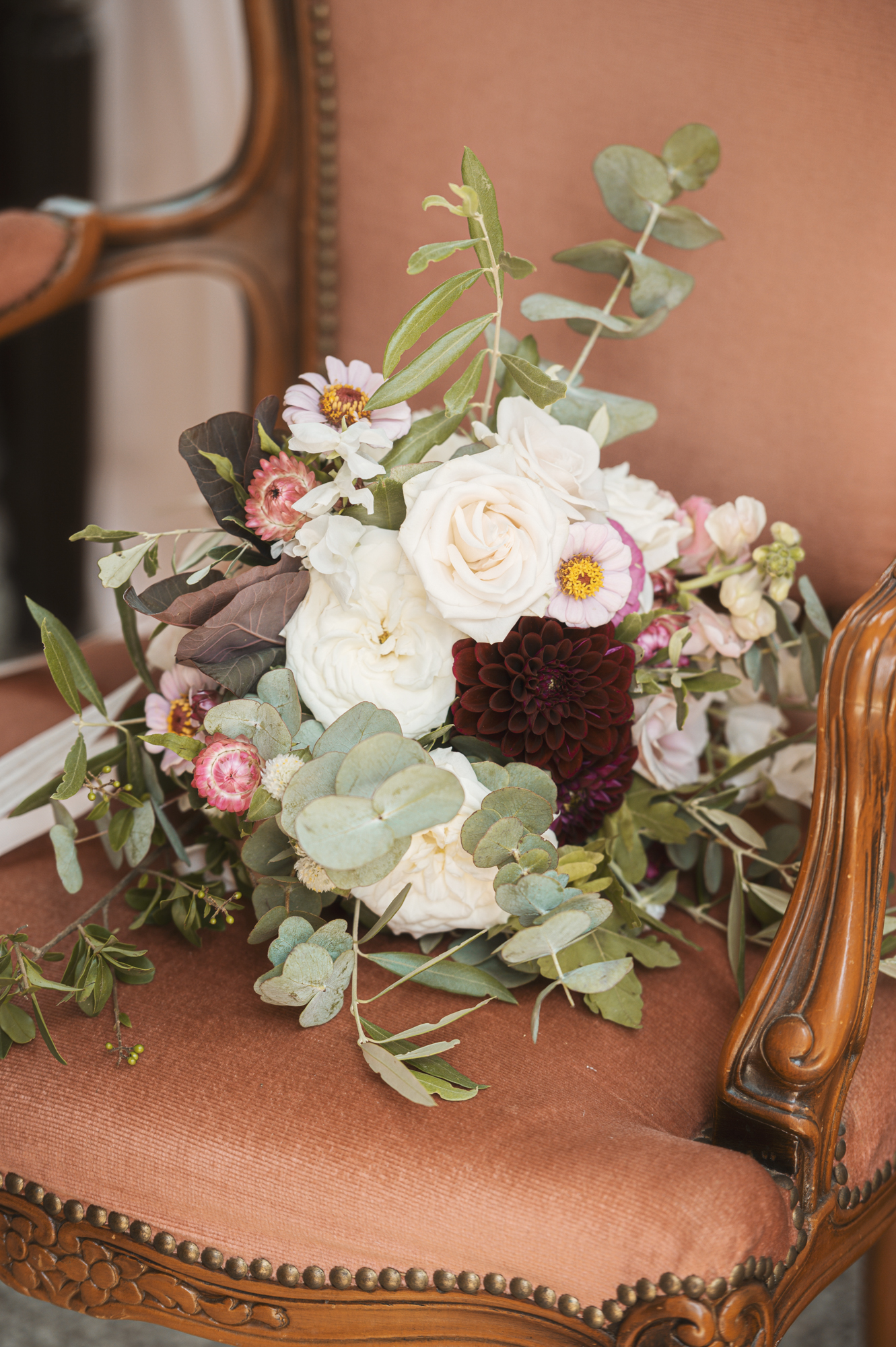 French wedding florals