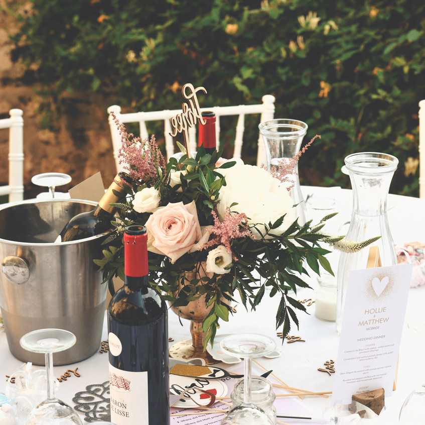French wedding decorations