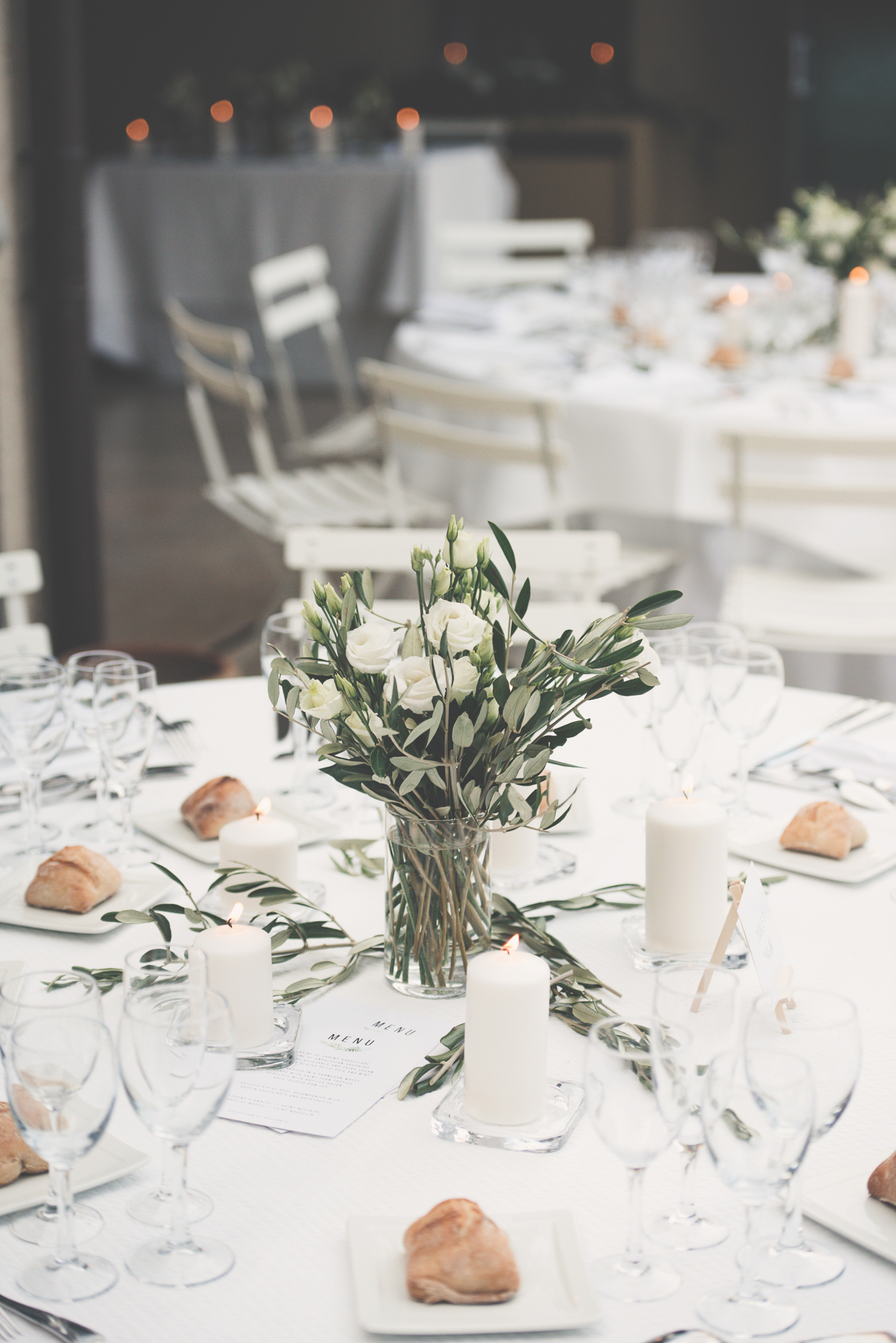 Wedding dinner styling, Provence