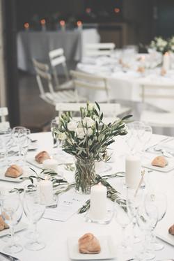 Wedding dinner styling, Provence