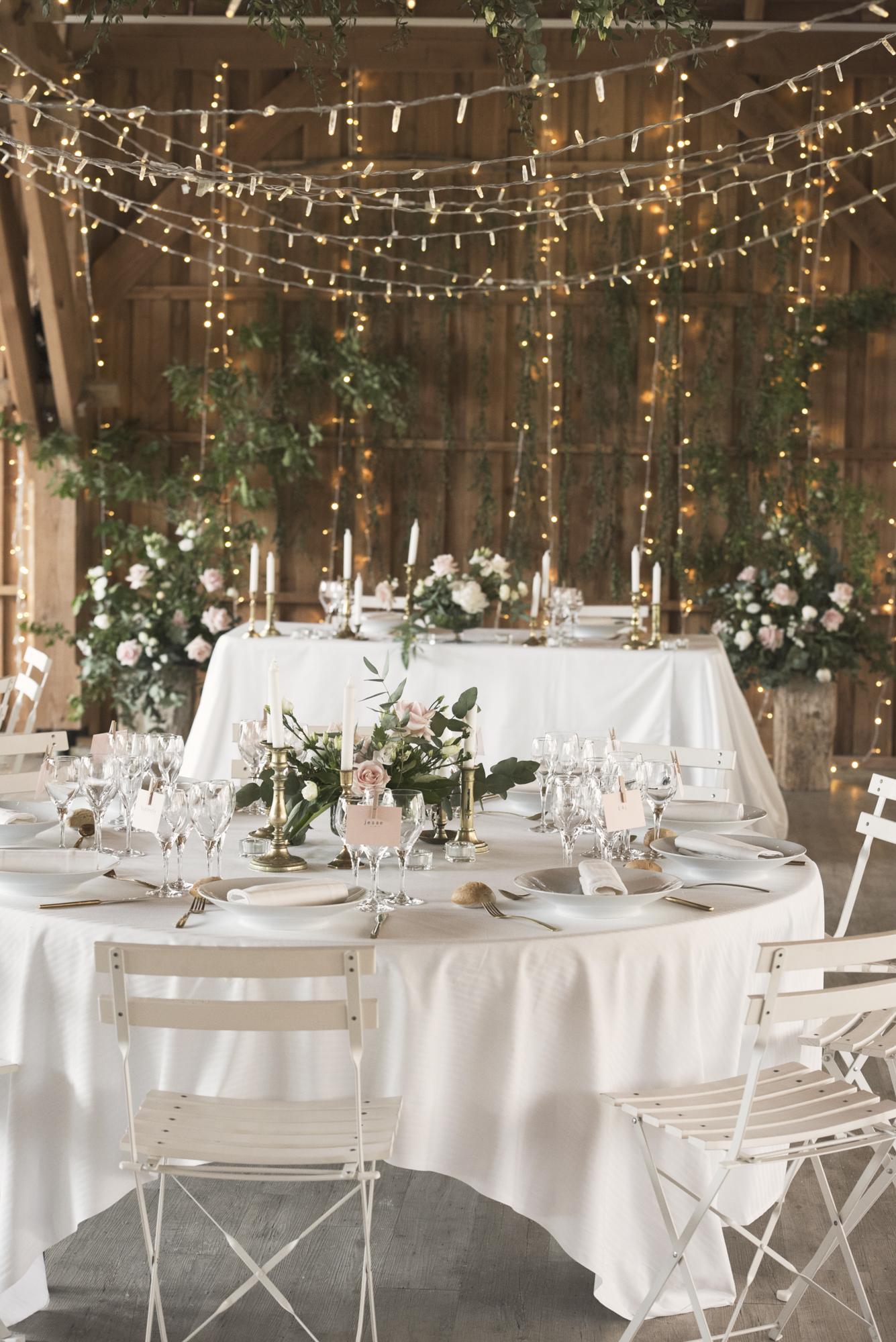 French wedding dinner inspiration