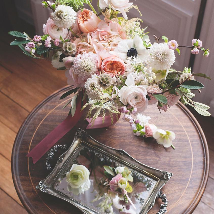 Bouquet and buttonholes