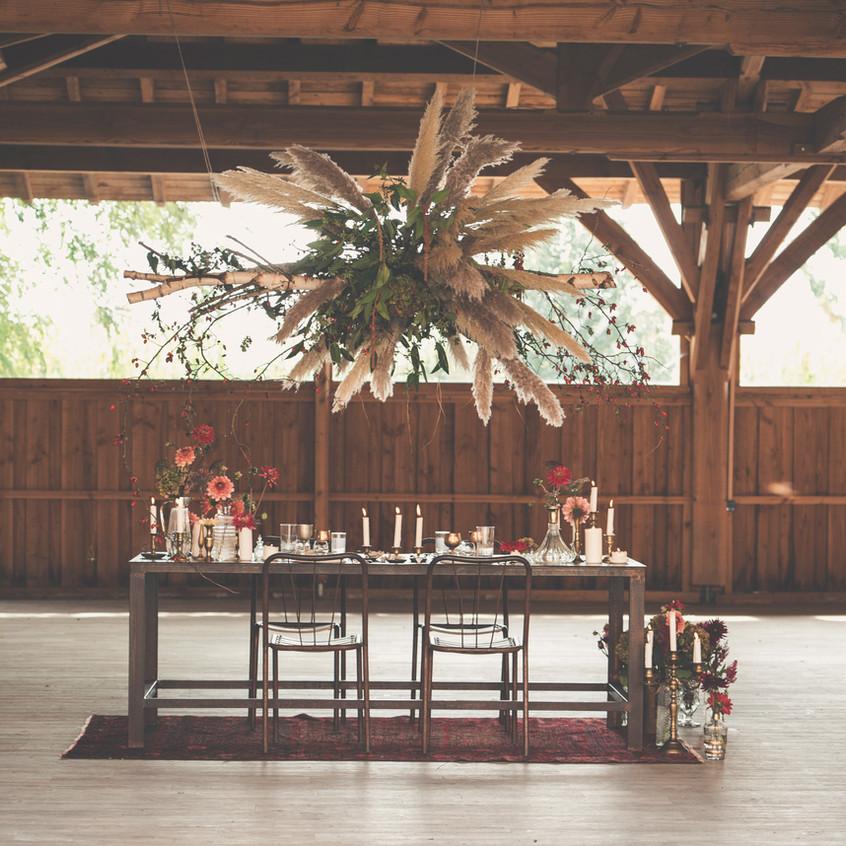 Bohemian wedding in France