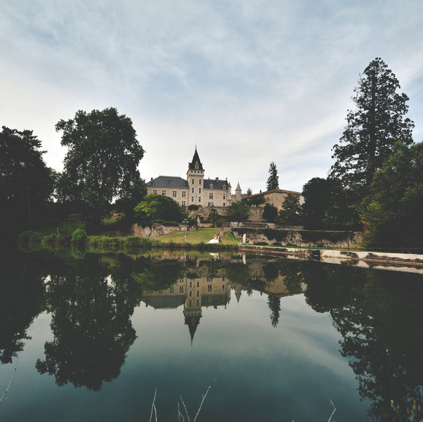 Chateau wedding in South of France