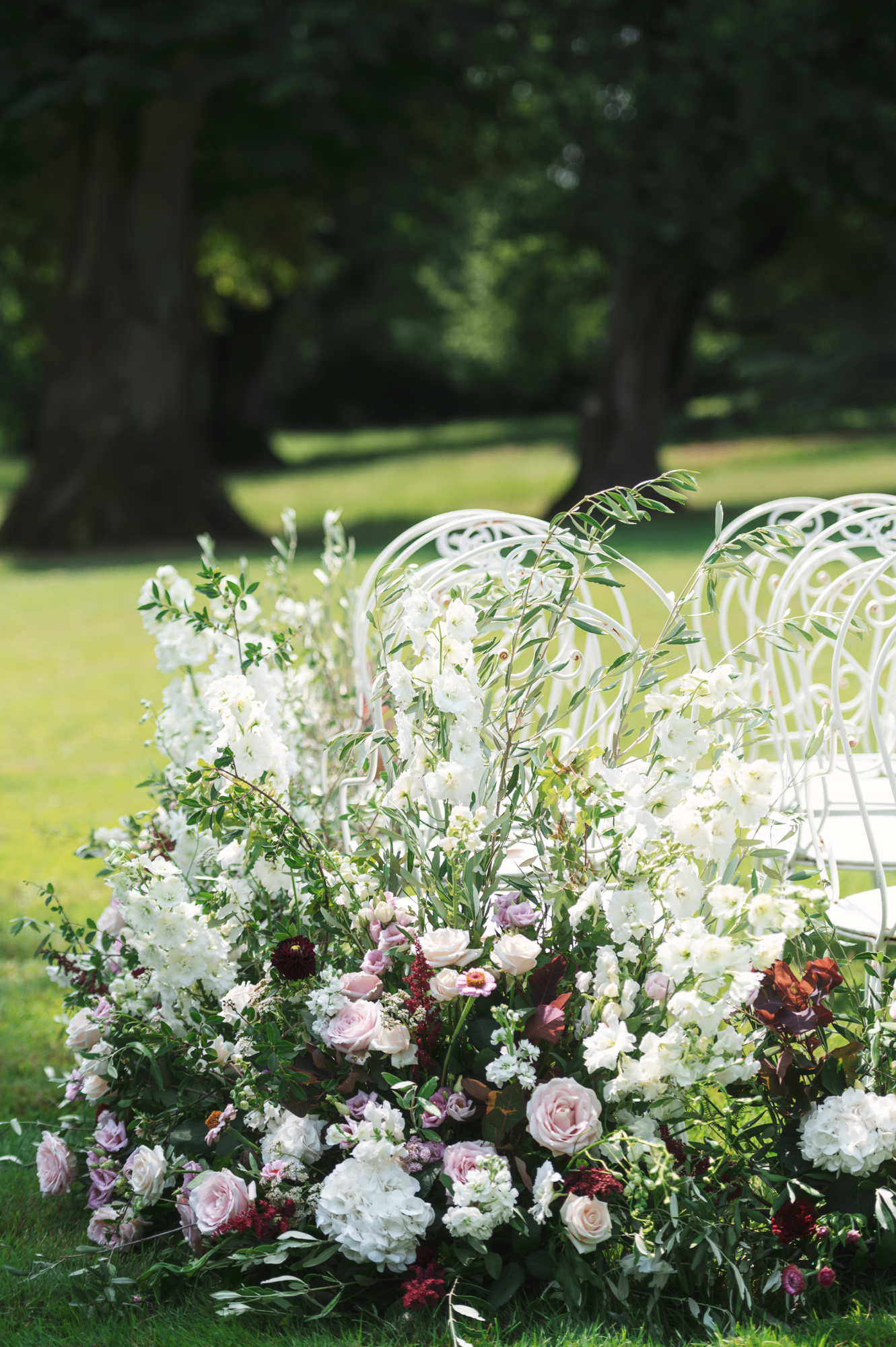 French wedding outdoor ceremony