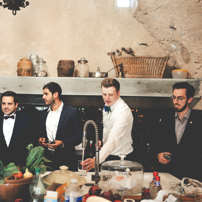 Georgia & Florent - Provence Wedding - 0