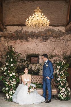 Organic wedding styling in France