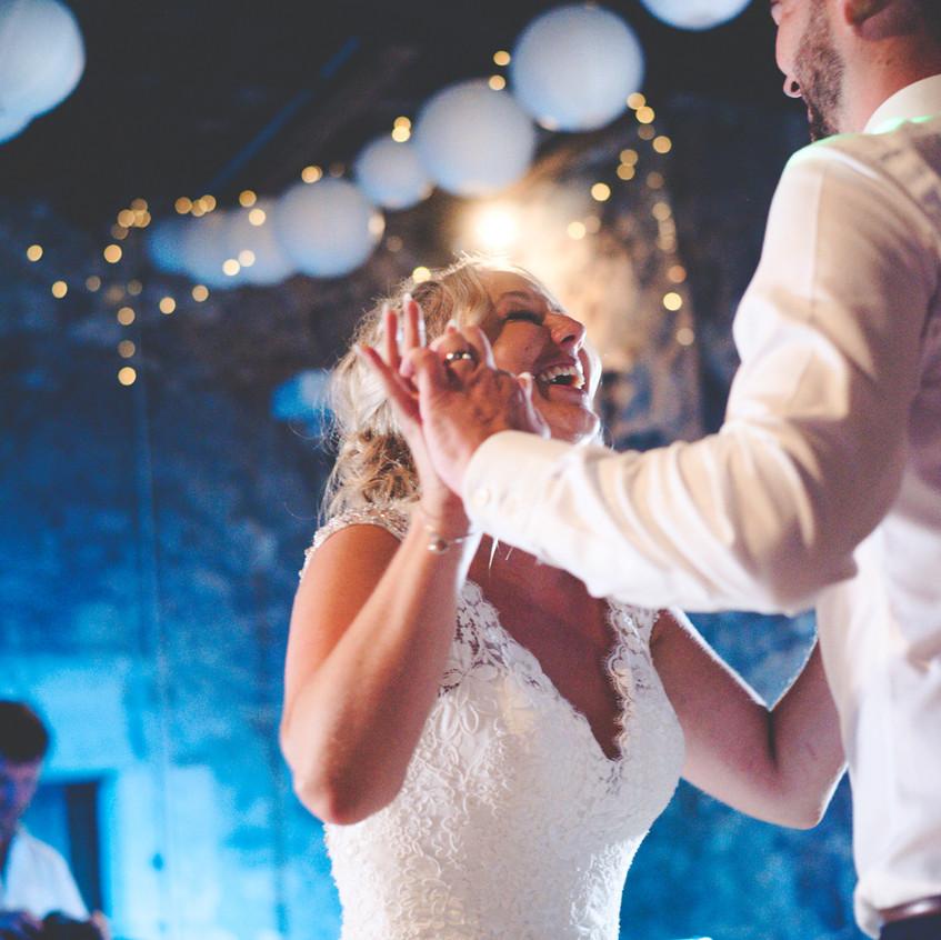 Wedding first dance  chateau wedding