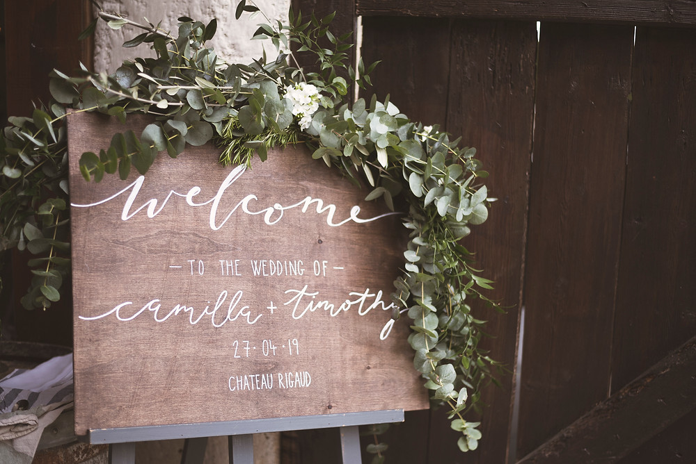 Wedding decorations inspiration in France