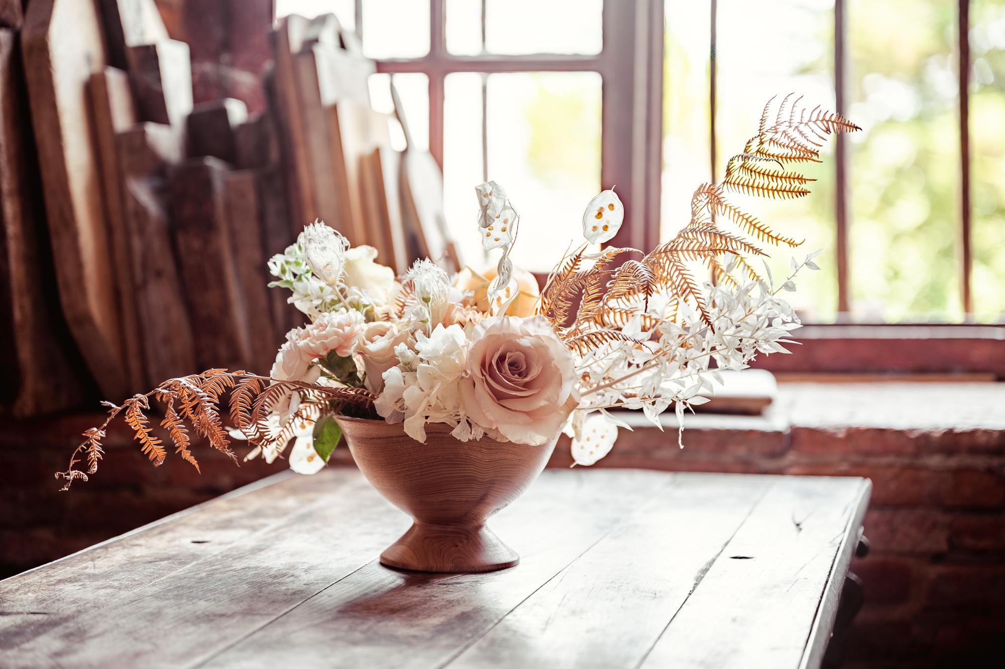Wedding organic decorations