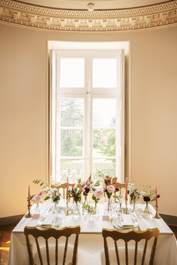 Wedding in French chateau editorial