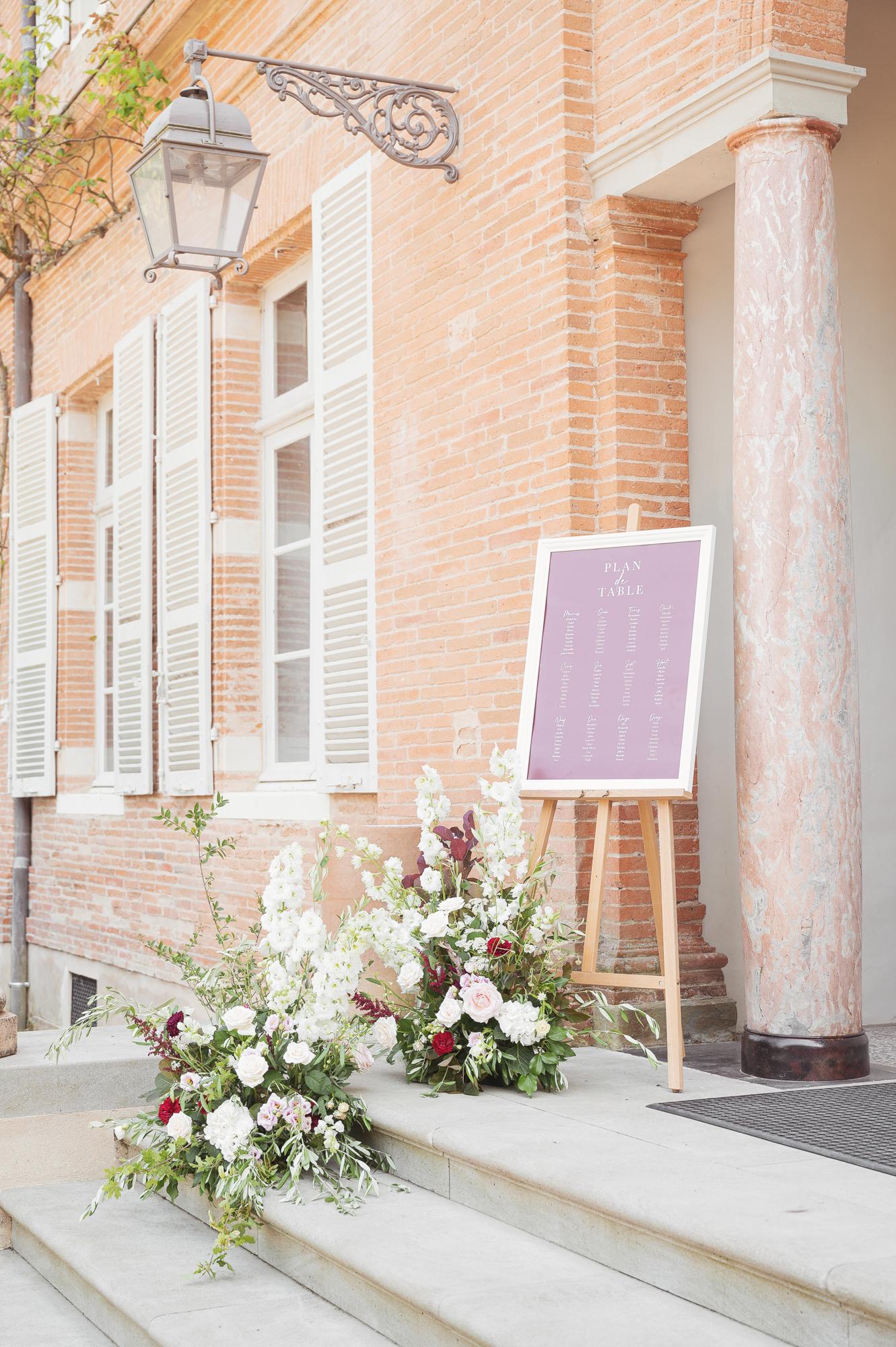French chateau wedding wedding planner and stylist