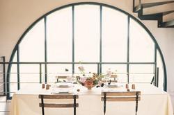 Modern and minimalist wedding