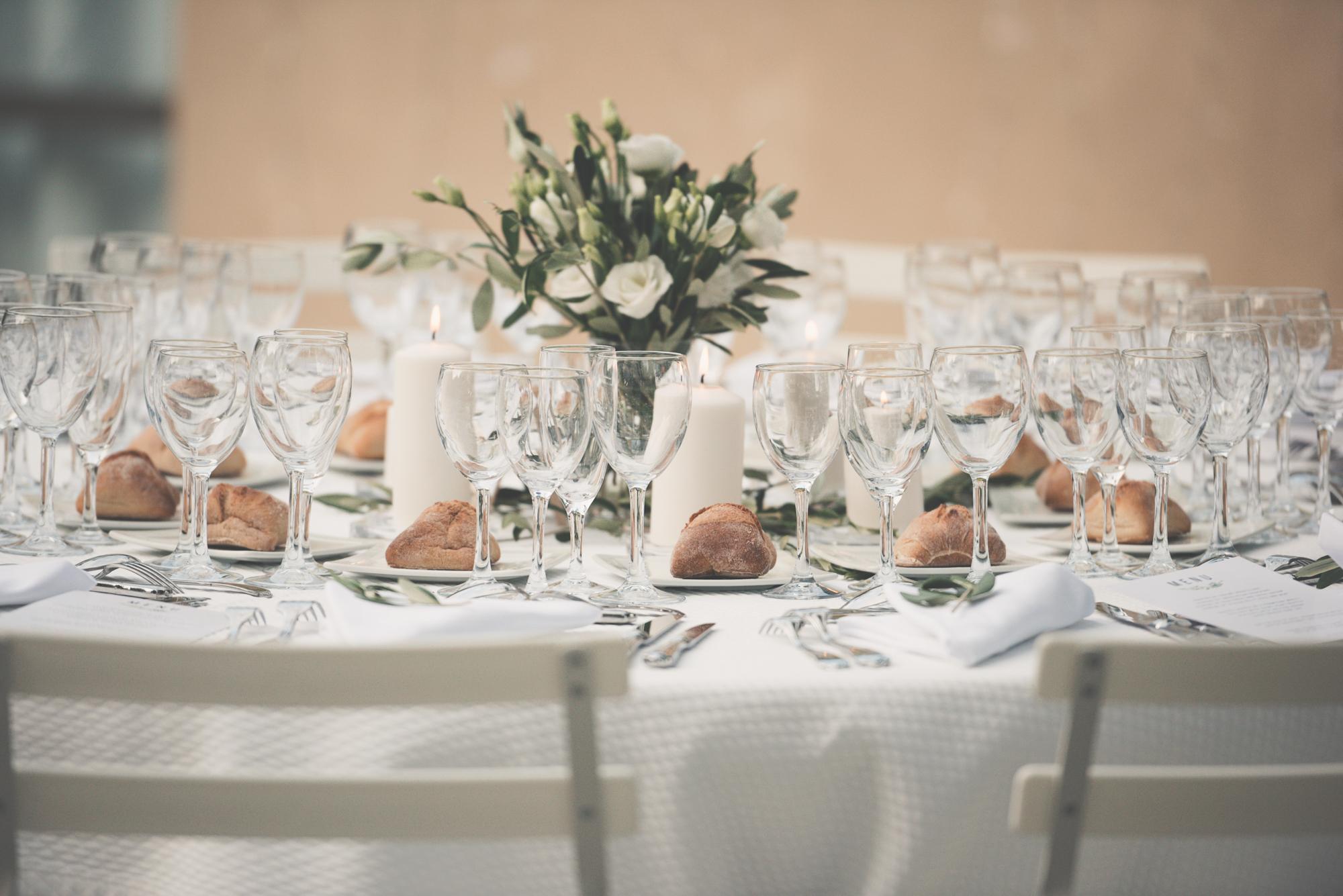 Wedding dinner in Provence