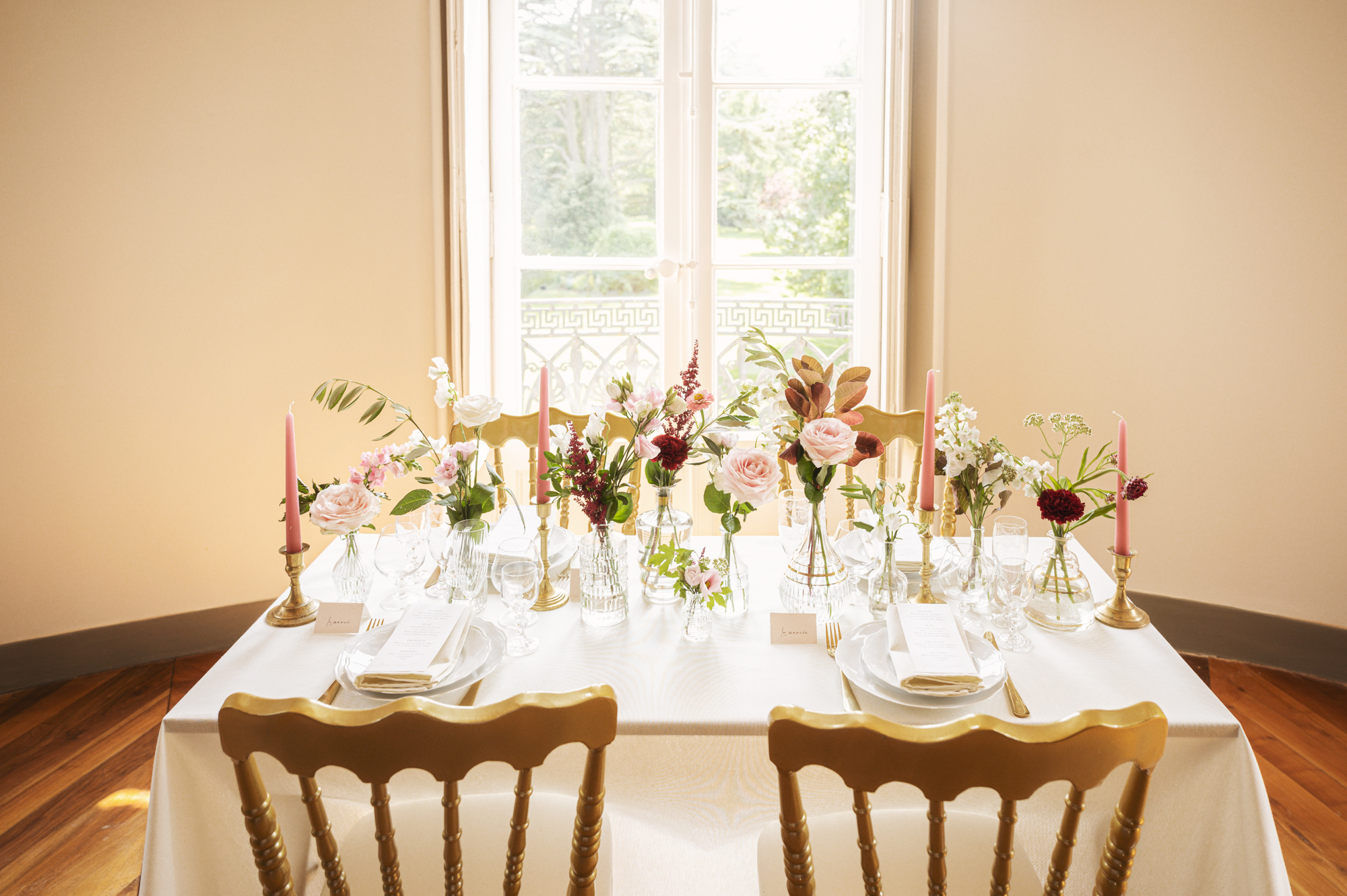 French wedding decorations to hire