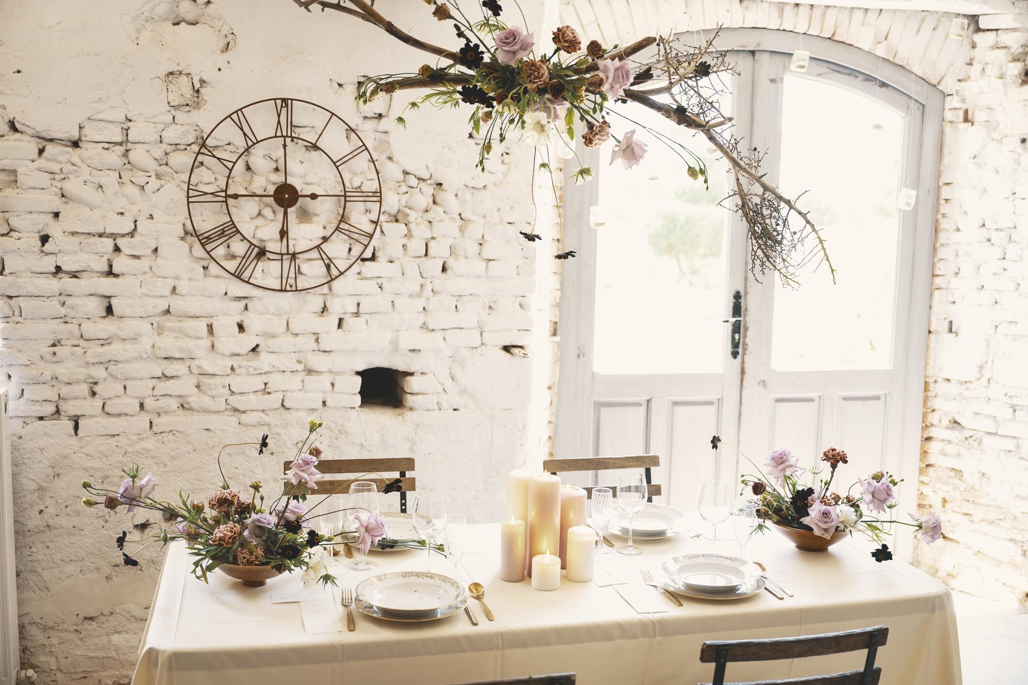 Elegant French wedding design