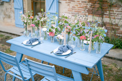 French wedding in countryside