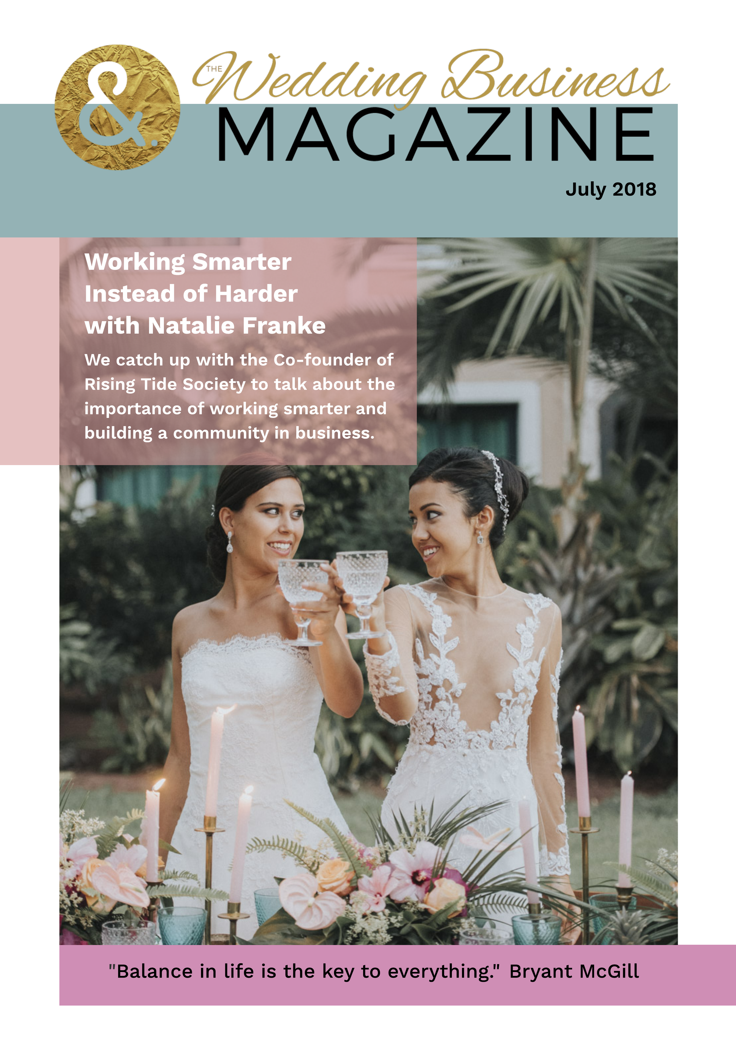 WedBizMag July 2018_Cover