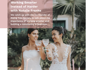 Awardweddings contributes to Wedding Business Magazine