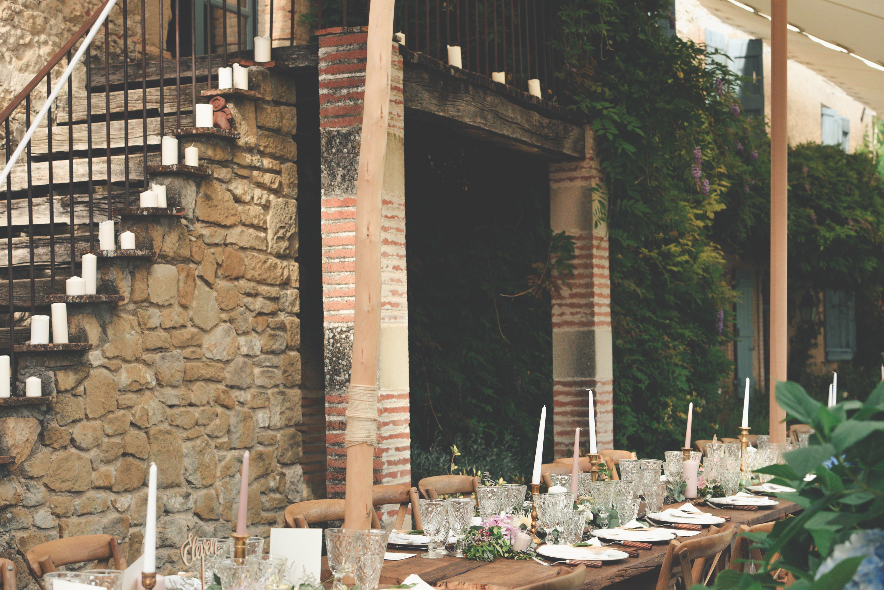South West France outdoor wedding